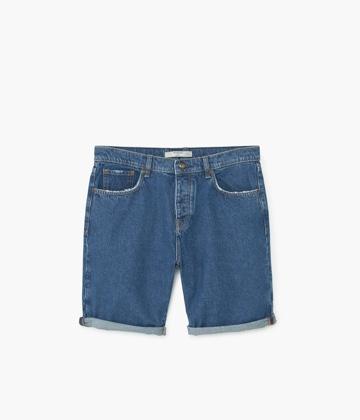 Black Shorts with Belt